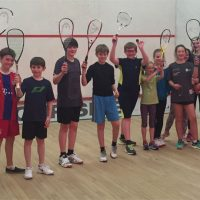 Juniors of Harlow Squash.